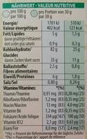 Crunchy Nut - Voedingswaarden - de