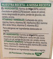 Choco krispies - Ingredients