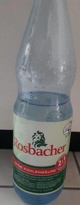 Rossbacher Mineralwasser - Produkt - de