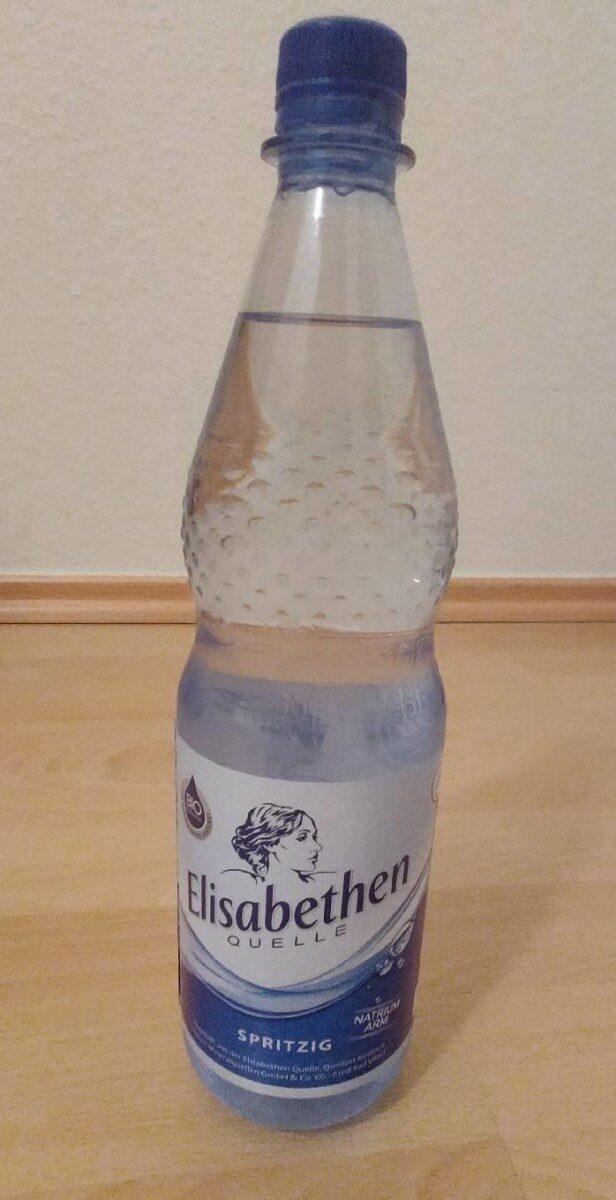 Elisabethen Mineralwasser, Spritzig - Produkt - de