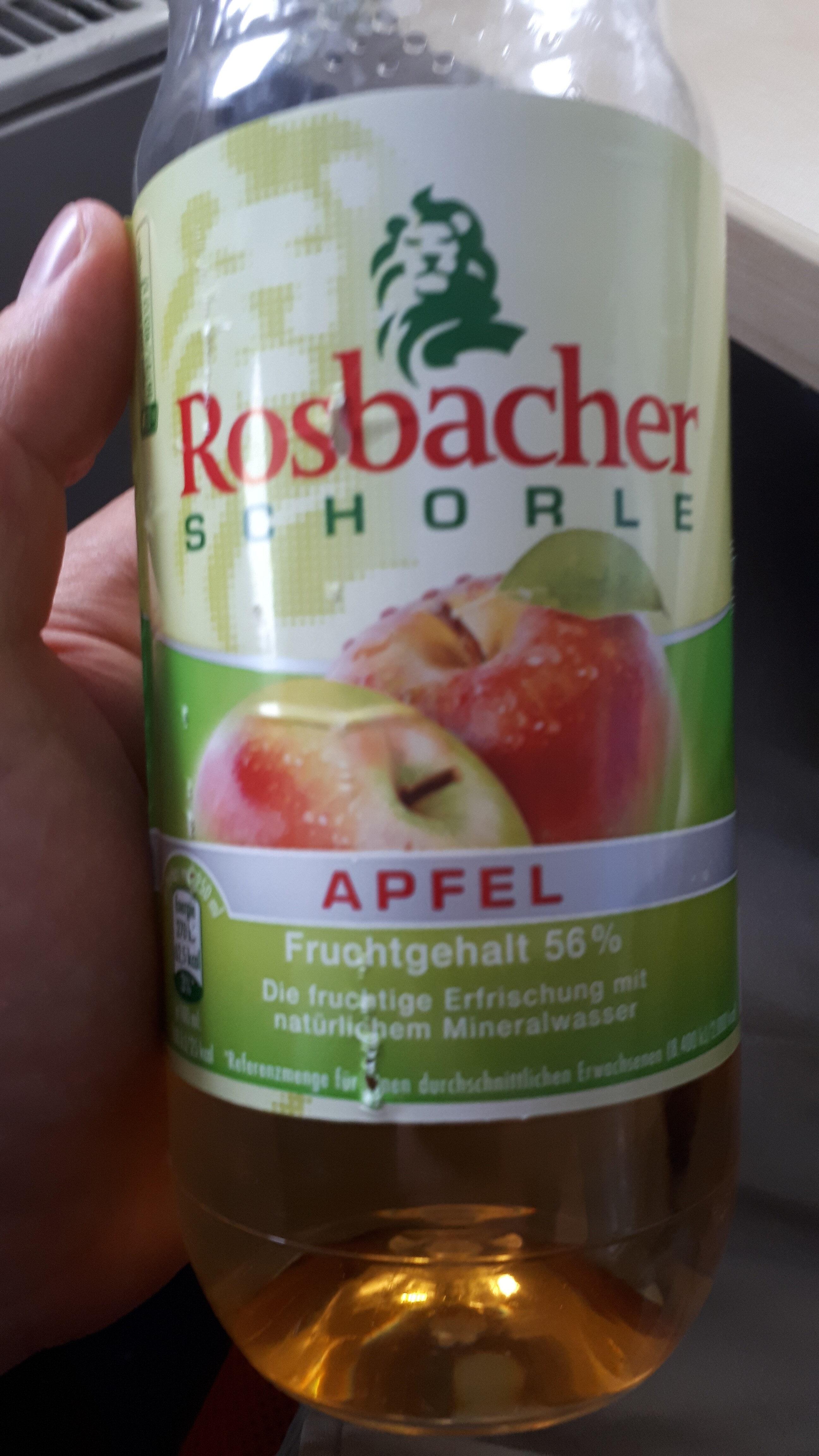 Rosbacher Schorle Apfel - Product
