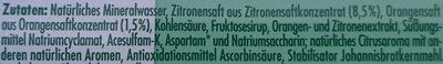 Lemon kalorienarm - Inhaltsstoffe - de