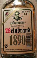Weinbrand 1890 - Produit - de