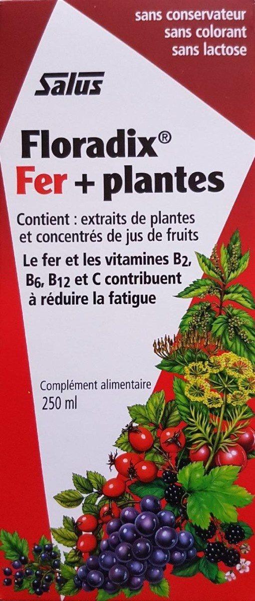 Floradix Fer + Plantes - 250 ML - Salus - Product - fr