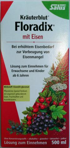 Kräuterblut Floradix mit Eisen - Product - de