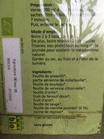 Salus Tisane Détox - Ingredients