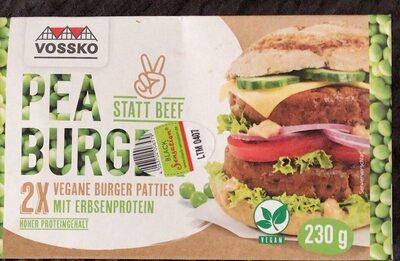Pea burger - Prodotto - de