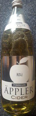Äppler Cider - Produkt