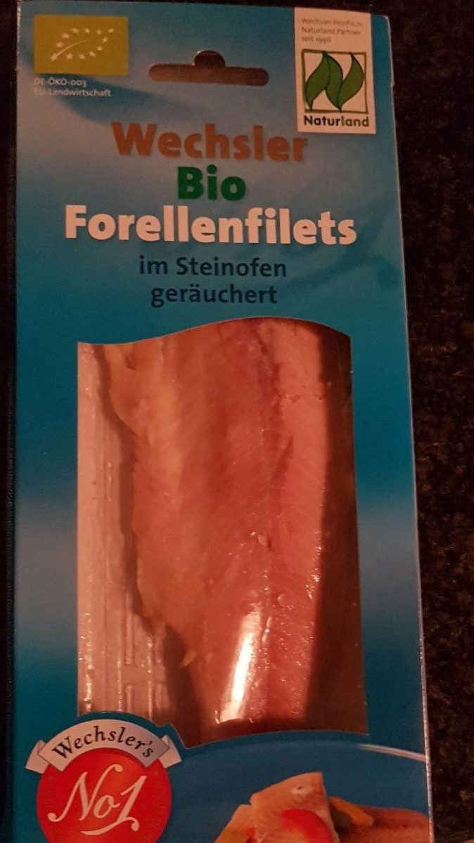 Forellenfilets - Product