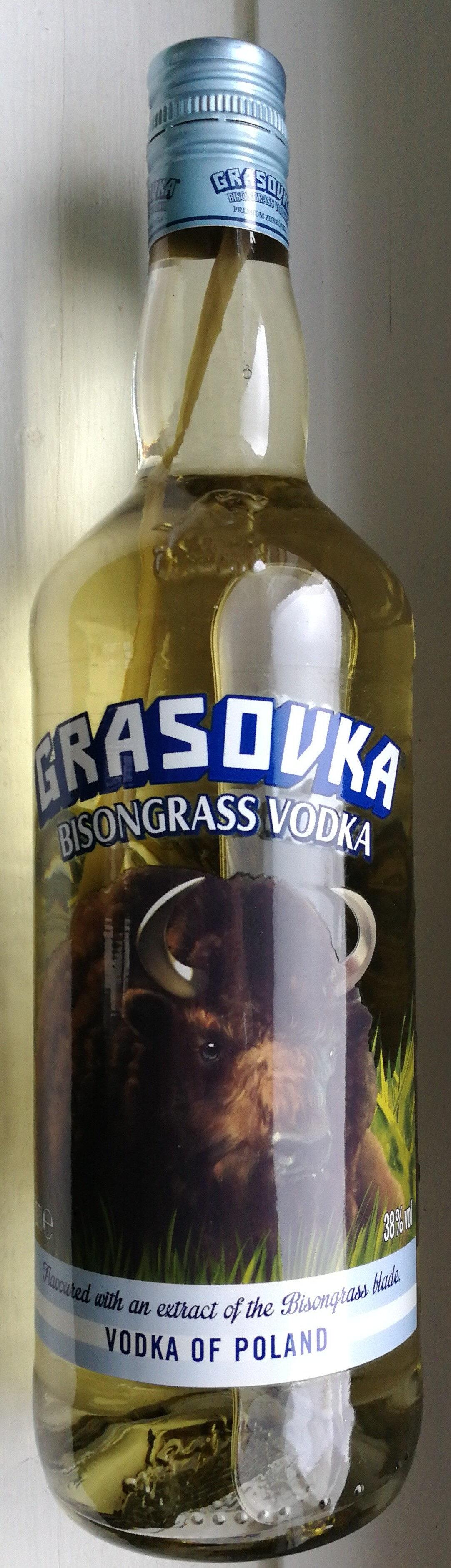 GRASOVKA - BISONGRAS VODKA - Produit - de