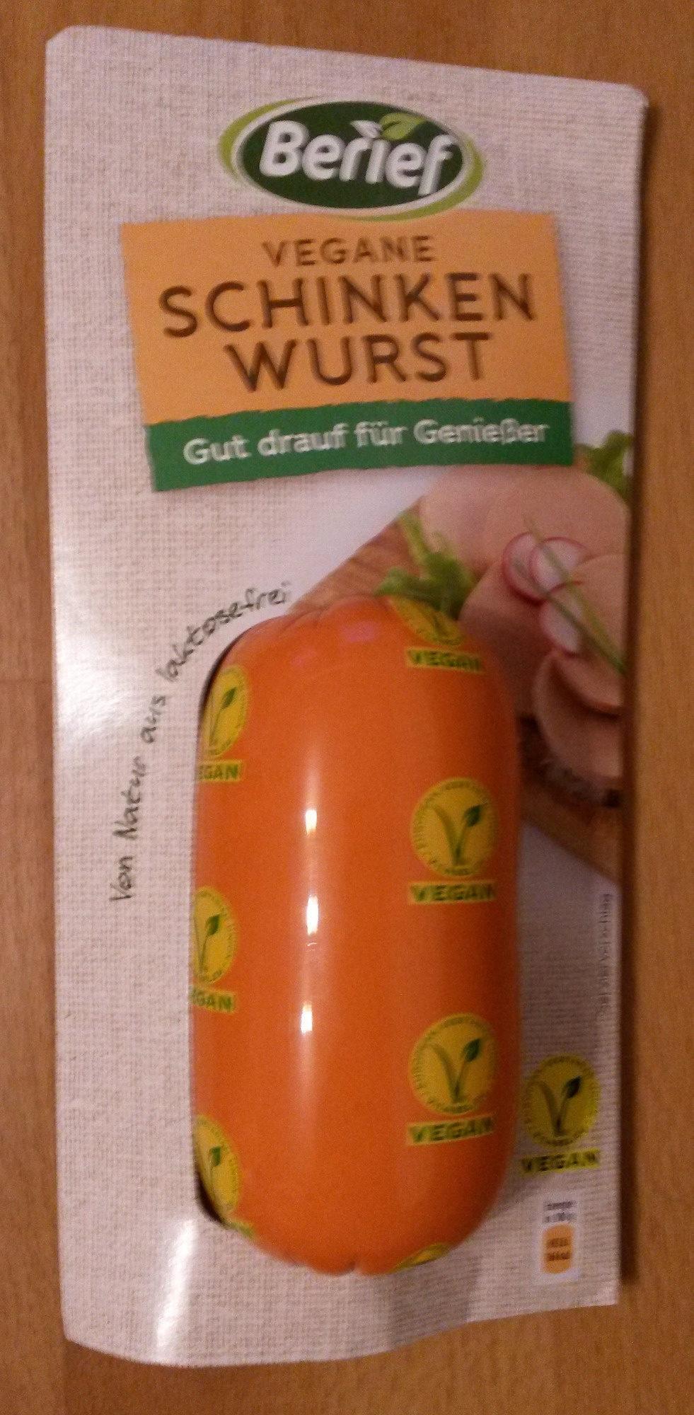 Vegane Schinken Wurst - Produit