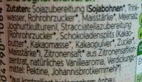 Bio Sojaghurt Stracciatella - Inhaltsstoffe - de