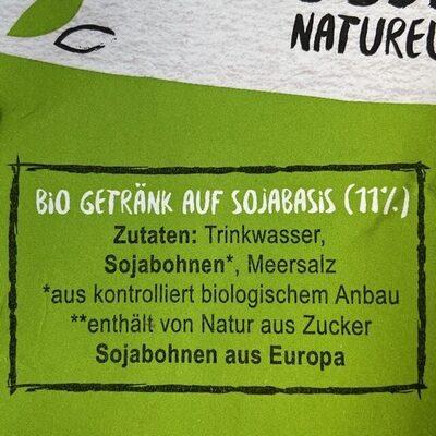 Bio Soja Naturell - Ingredienti - de