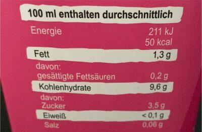 Bio Reis Drink Natur - Informations nutritionnelles - fr