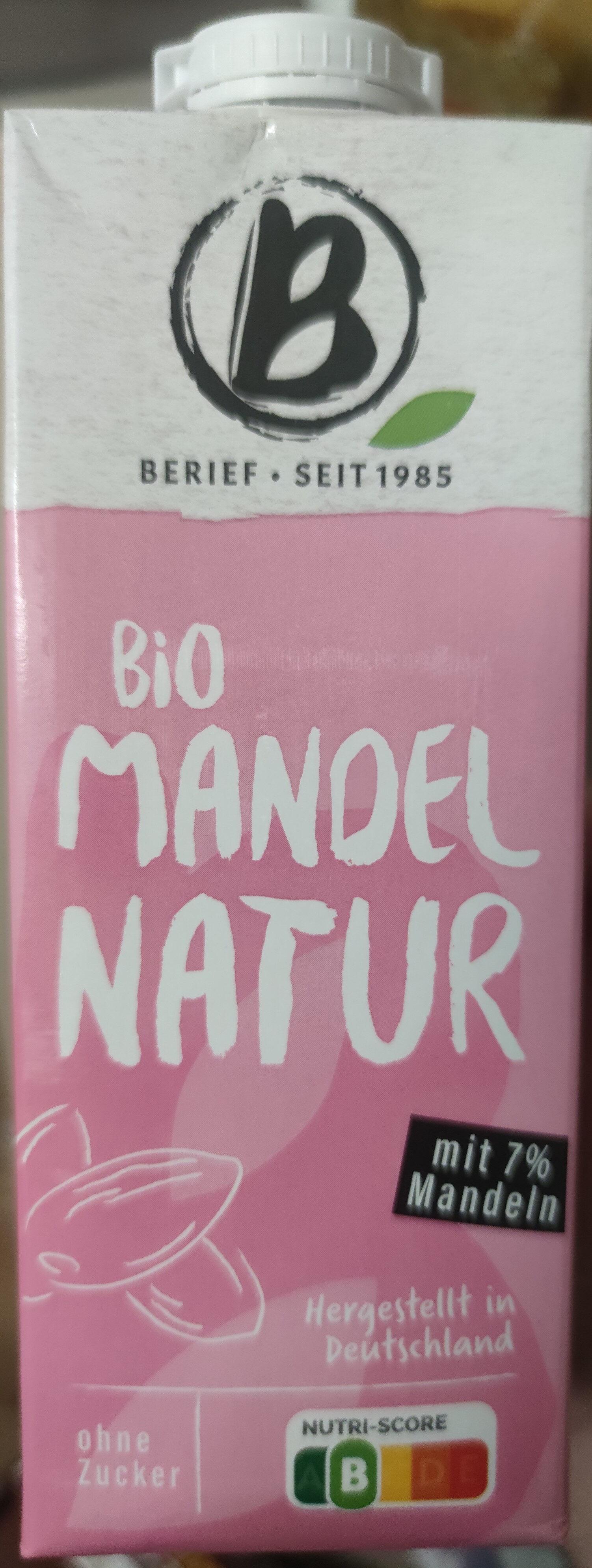 Bio Mandel Natur - Prodotto - de