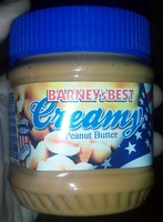 Barney's Best Creamy Peanut Butter - Product