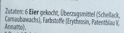 6 gekochte deutsche brotzeiteier - Ingredients - de