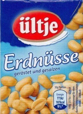 Erdnüsse geröstet und gesalzen - Produit - de