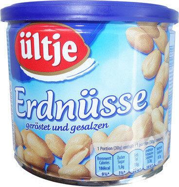 Erdnüsse, geröstet und gesalzen - Prodotto - de