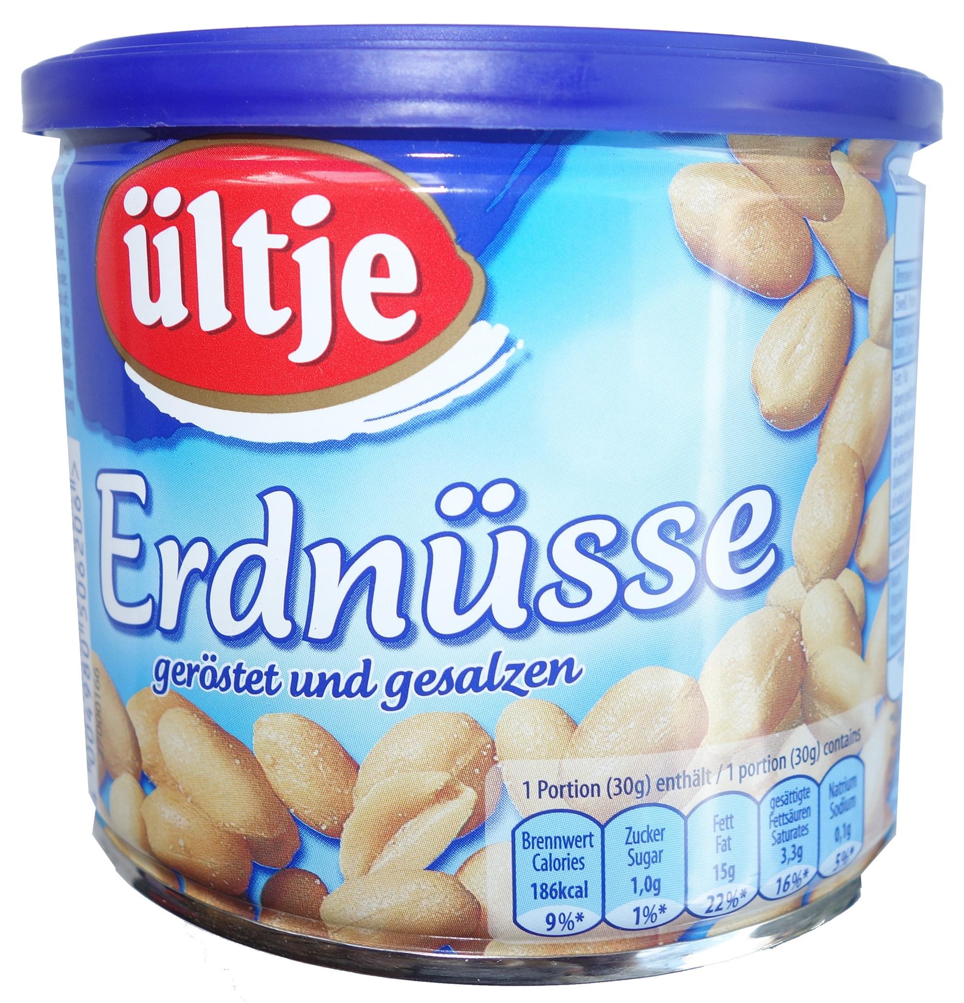 Erdnüsse geröstet und gesalzen - Produit - fr