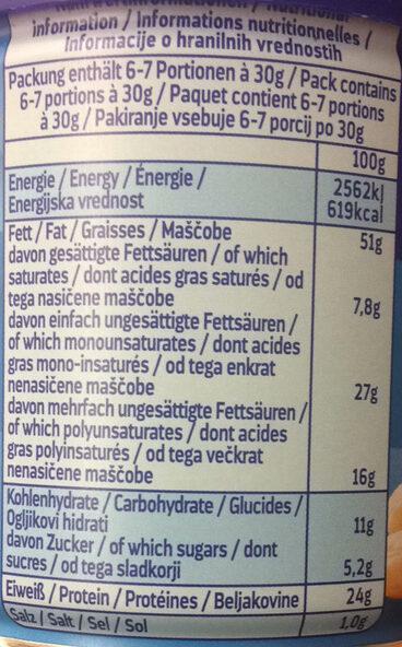 Erdnüsse geröstet und gesalzen - Informations nutritionnelles - de