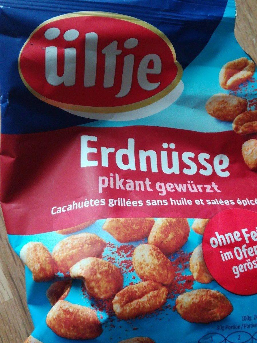 Erdnüsse - Cacahuètes grillées sans huile et salées, épicées - Prodotto - fr