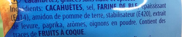 Erdnüsse - Cacahuètes grillées sans huile et salées, épicées - Ingredienti - fr