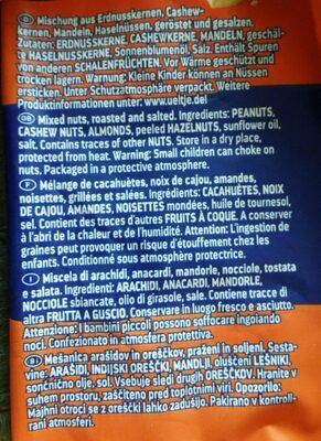 ültje Bar-mix 200G - Ingrédients - fr