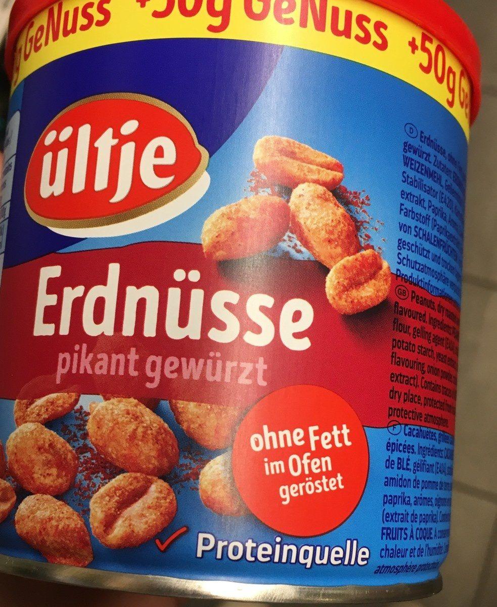 Erdnüsse ohne Fett im Ofen geröstet - Product - en