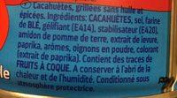 Erdnüsse ohne Fett im Ofen geröstet - Ingredients - en