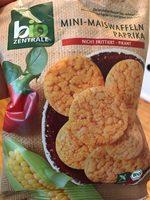 Mini Maiswaffeln Paprika - Produit - fr