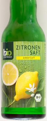 Zitronensaft - Produkt