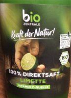 100% Direktsaft Limette - Produit - de