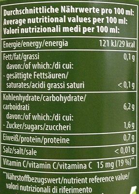 Limette - Nutrition facts - de