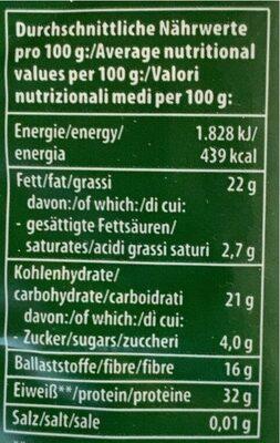 Müsli - Informazioni nutrizionali - de