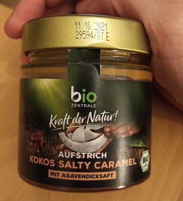 Agave Kokos Aufstrich mit Karamell und Meersalz - Produit