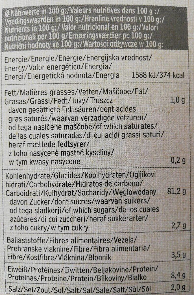 Eden Cornflakes 375G - Nutrition facts - fr