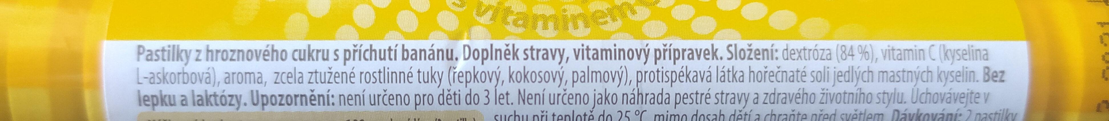 Intact banán - Ingrédients - cs
