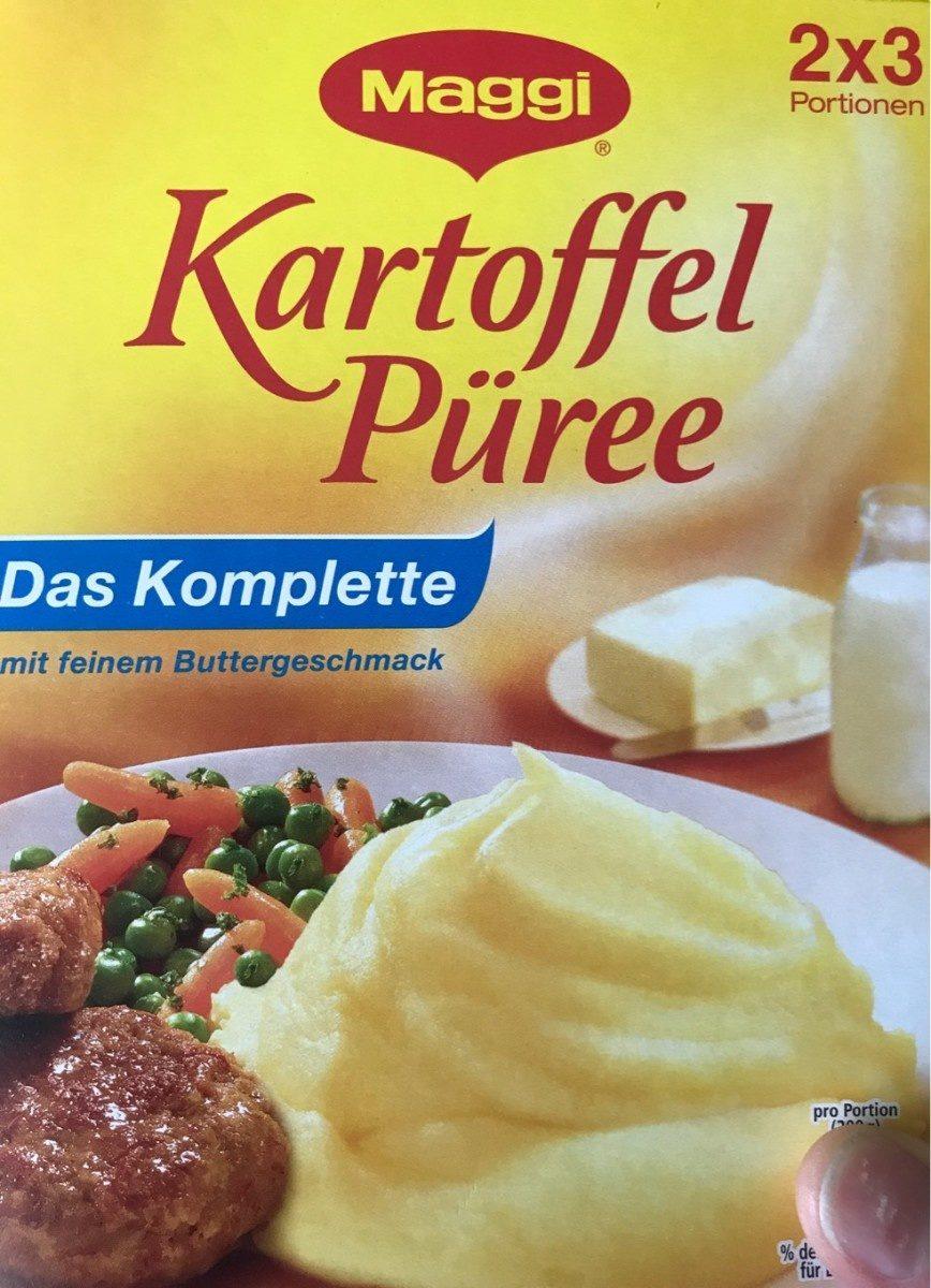 Kartoffel Püree das Komplette mit feinem Buttergeschmack - Produit - fr
