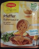 Pferffer-Rahmsauce - Produit