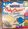 Baby Dessert goût vanille - Product