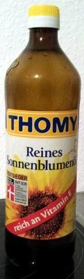 Reines Sonnenblumenöl - Produkt
