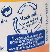 Sonnenblumenöl - Recycling instructions and/or packaging information - de