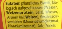 Wurze Maggi - Ingredients