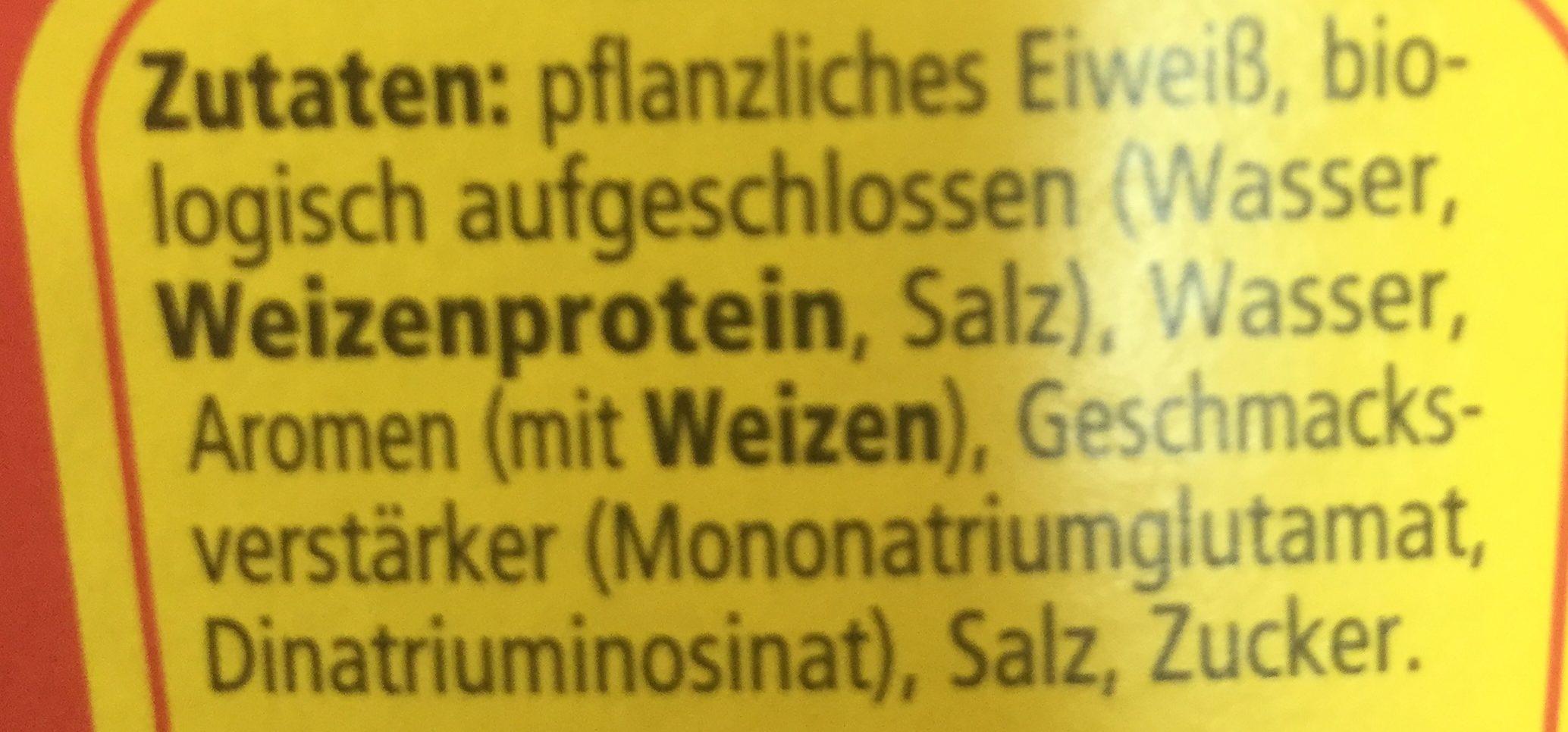 Wurze Maggi - Ingredients