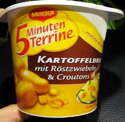 Kartoffelbrei mit Röstzwiebeln & Croutons - Produit - de