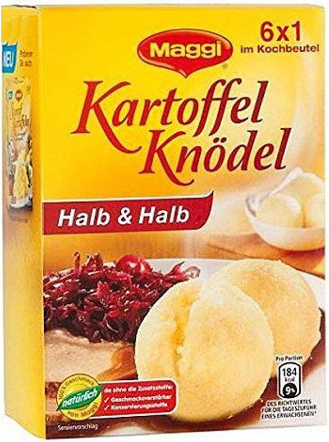 Maggi 6 Knödel Halb / Halb - Product - fr