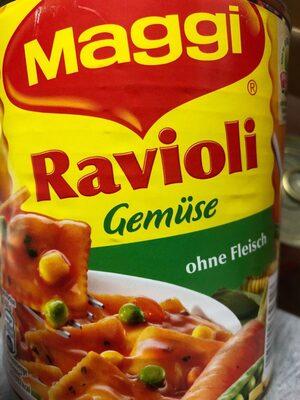 Ravioli Gemüse - Produkt - de