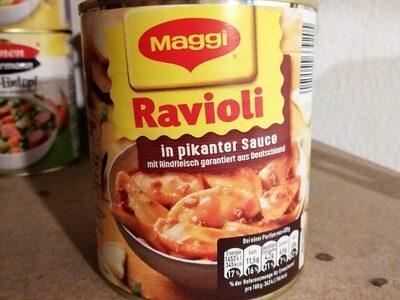 Ravioli in pikanter  Sauce - Prodotto - de