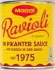 Ravioli in pikanter  Sauce - Product